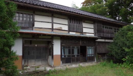 【佐渡島の古民家物件】築100年強の里山古民家