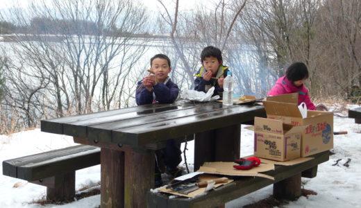子供達も大喜びの雪遊び♪