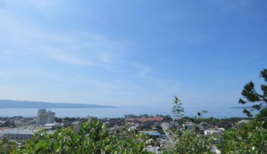 飲食店などにチャレンジしたい方必見!夢広がる海の見える高台。