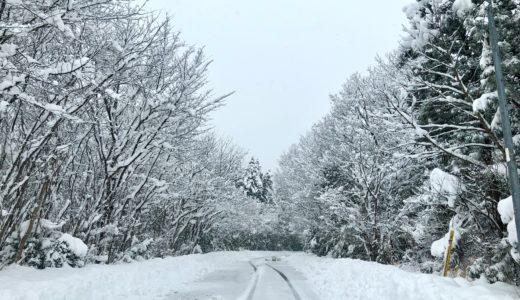 【佐渡の冬】佐渡の積雪情報