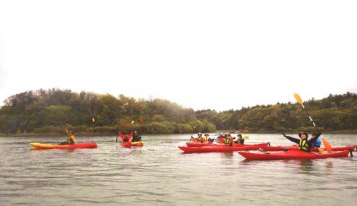 佐渡加茂湖でシーカヤック体験をしてきました!