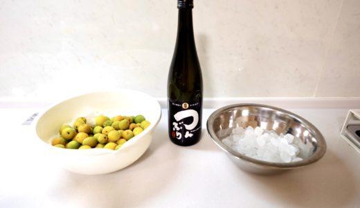 【地方移住】佐渡で梅シロップと梅酒を作る